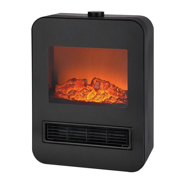 TEKNOS 電気式暖炉ヒーター1200W TD-S1201