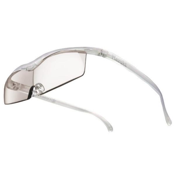 メガネ型拡大鏡 ハズキルーペ コンパクト カラーレンズ 1.32倍 パール Hazuki Company