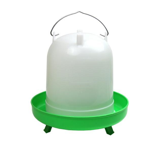 【ニワトリ・キジ類用】自動給水器8L【折りたたみ脚付き】