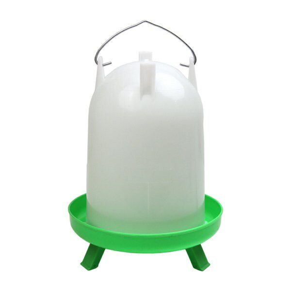 【ニワトリ・キジ類用】自動給水器4L【折りたたみ脚付き】