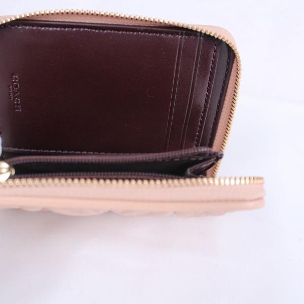 promo code 07f26 ce03b コーチ レディース COACH キルティング 小物 財布 二つ折り財布 レザー