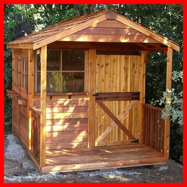 シダーシェッド クラブハウス小屋収納DIY住宅スペース場所自転車置場おすすめ物置きおしゃれ屋外作業部屋