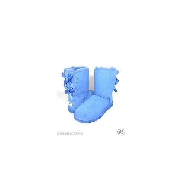 新品 UGG 24cm レディース アグ 正規品 サイズ7 ベイリーボウ エキゾチック スケールズ ブーツ リボン ムートン