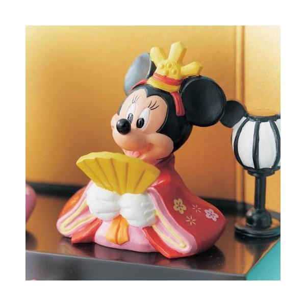 ディズニー コンパクト 節句用品・ひな飾り 壇付きおひなさまフルセット bellemaison 03