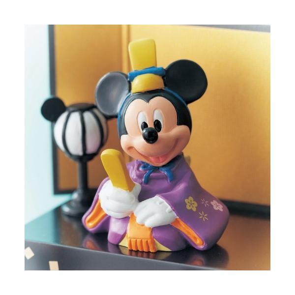ディズニー コンパクト 節句用品・ひな飾り 壇付きおひなさまフルセット bellemaison 05