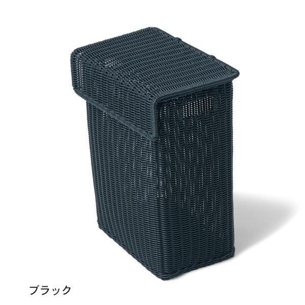 ベルメゾン ランドリーボックス「Kapo」 カラー 「ブラック」