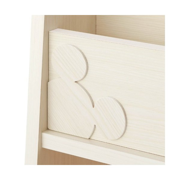 ディズニー 1cmピッチ可動棚付き絵本収納ラック 「89」|bellemaison|05