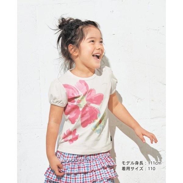 3c05d26599db0 子供服 Tシャツ GITA ジータ 半袖Tシャツ 名札 通園 通学 綿 おしゃれ 女の子 オフ ...