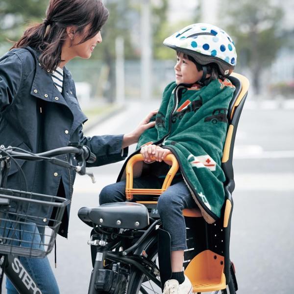 ブランケット ひざ掛け マイクロファイバー×ボアの自転車用巻き巻き毛布 カラー ほし|bellemaison|02