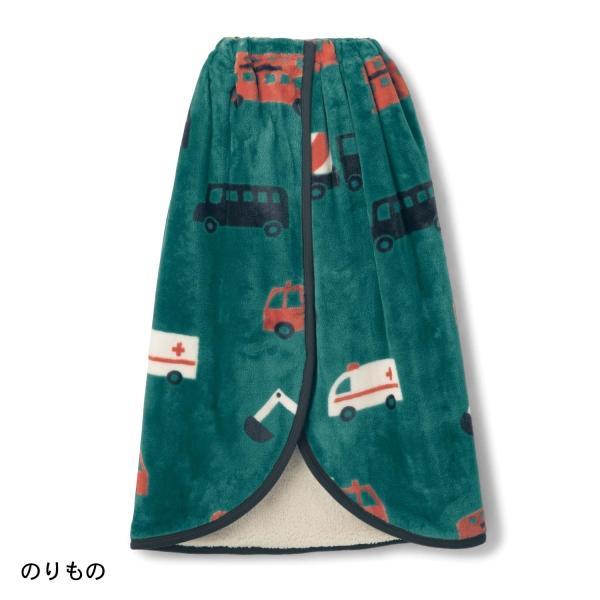 ブランケット ひざ掛け マイクロファイバー×ボアの自転車用巻き巻き毛布 カラー ほし|bellemaison|04