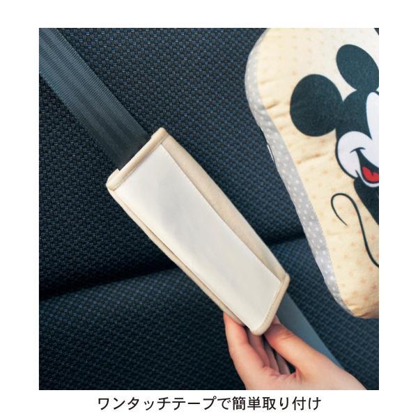 カー用品 カーグッズ  ディズニー シートベルト用クッション|bellemaison|04