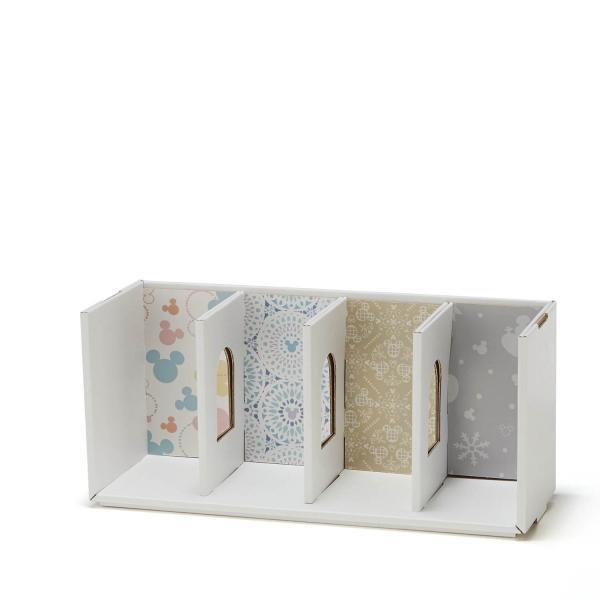 フリーボックス 小物収納ケース ディズニー ぬいぐるみバッジコレクション THE APARTMENT カラー 「レッドセット」|bellemaison|11