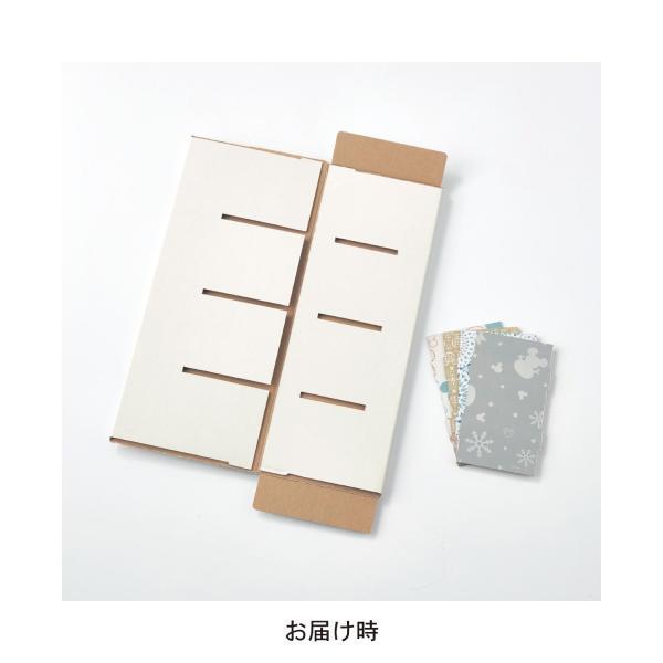フリーボックス 小物収納ケース ディズニー ぬいぐるみバッジコレクション THE APARTMENT カラー 「レッドセット」|bellemaison|06
