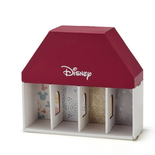 フリーボックス 小物収納ケース ディズニー ぬいぐるみバッジコレクション THE APARTMENT カラー 「レッドセット」|bellemaison|09