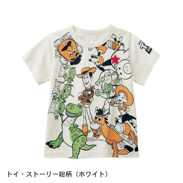 db61ca86bb874 ... 子供服 おしゃれ Tシャツ ディズニー トイ・ストーリー名札ココ半袖Tシャツ 子供 ...