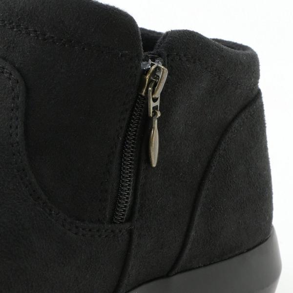 ブーツ レディース ショート ブーティ 吸湿発熱中敷き ショートブーツ 「オーク」