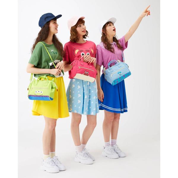 Tシャツ カットソー プルオーバー レディース ディズニー ビッグシルエットフェイスTシャツ(レディース) 「ダッキー(イエロー)」 bellemaison 13