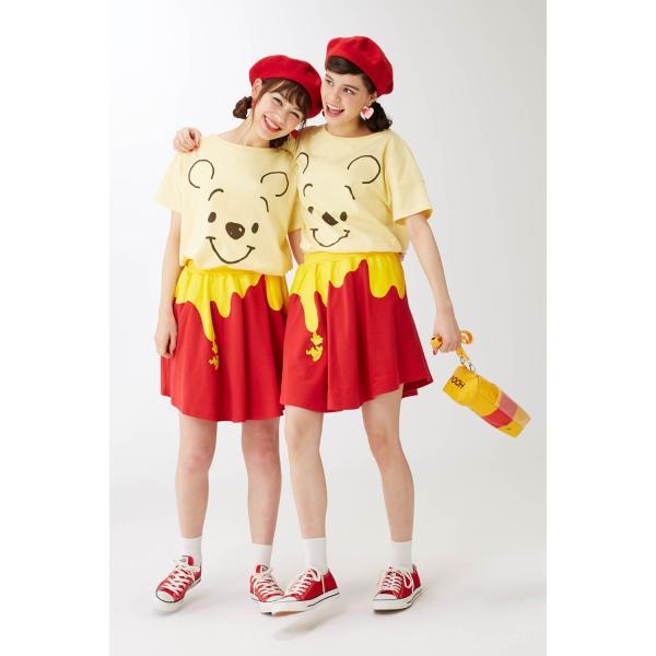 Tシャツ カットソー プルオーバー レディース ディズニー ビッグシルエットフェイスTシャツ(レディース) 「ダッキー(イエロー)」 bellemaison 15