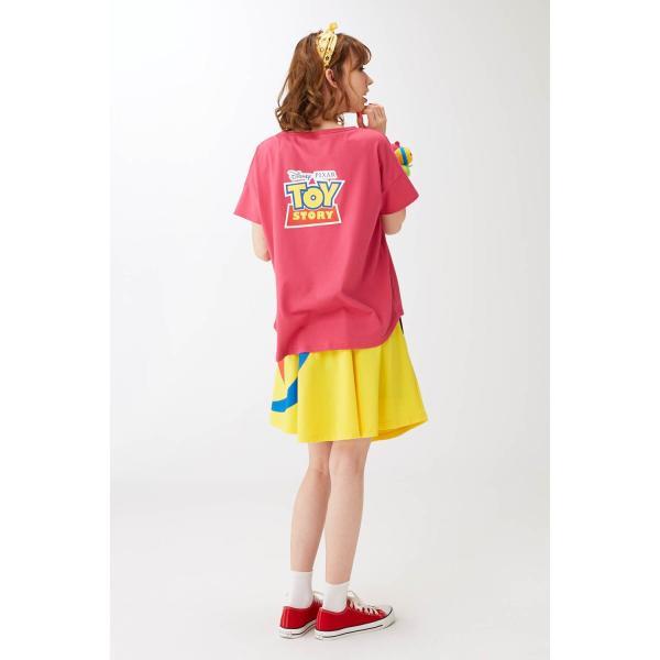 Tシャツ カットソー プルオーバー レディース ディズニー ビッグシルエットフェイスTシャツ(レディース) 「ダッキー(イエロー)」 bellemaison 16