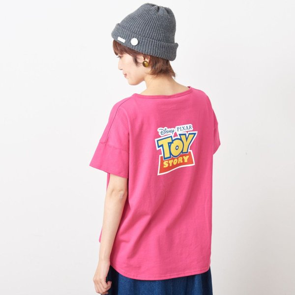 Tシャツ カットソー プルオーバー レディース ディズニー ビッグシルエットフェイスTシャツ(レディース) 「ダッキー(イエロー)」 bellemaison 19