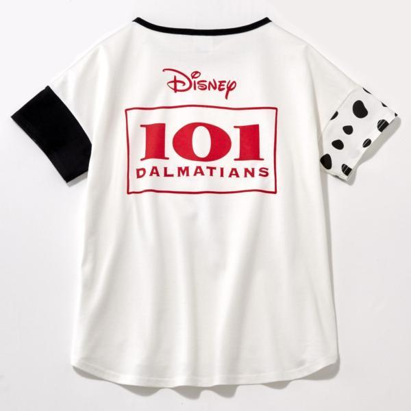 Tシャツ カットソー プルオーバー レディース ディズニー ビッグシルエットフェイスTシャツ(レディース) 「ダッキー(イエロー)」 bellemaison 20