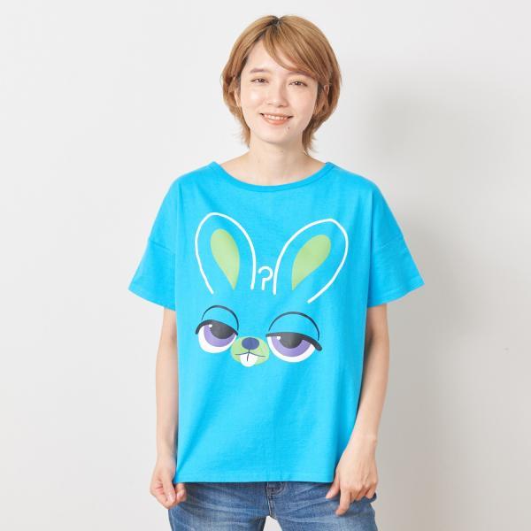 Tシャツ カットソー プルオーバー レディース ディズニー ビッグシルエットフェイスTシャツ(レディース) 「ダッキー(イエロー)」 bellemaison 21