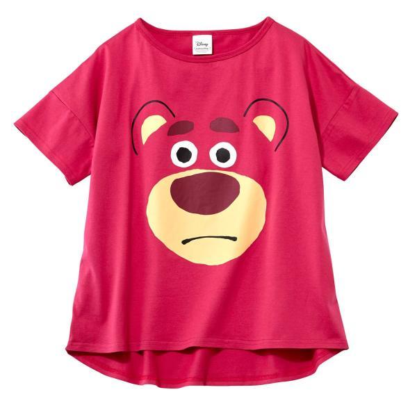 Tシャツ カットソー プルオーバー レディース ディズニー ビッグシルエットフェイスTシャツ(レディース) 「ダッキー(イエロー)」 bellemaison 04