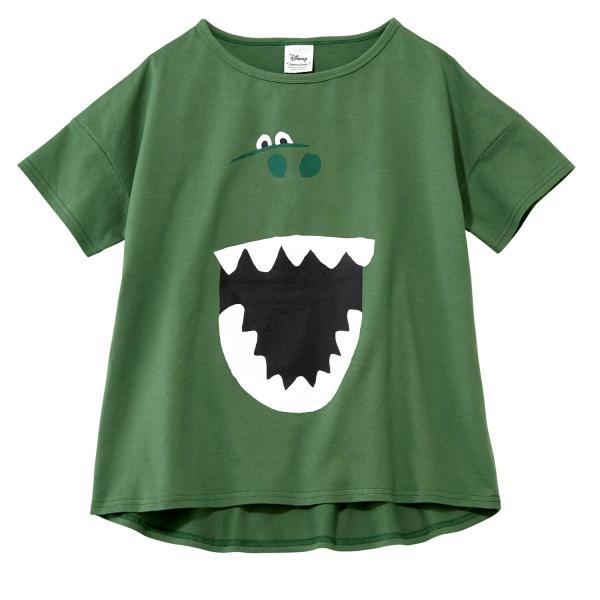 Tシャツ カットソー プルオーバー レディース ディズニー ビッグシルエットフェイスTシャツ(レディース) 「ダッキー(イエロー)」 bellemaison 06
