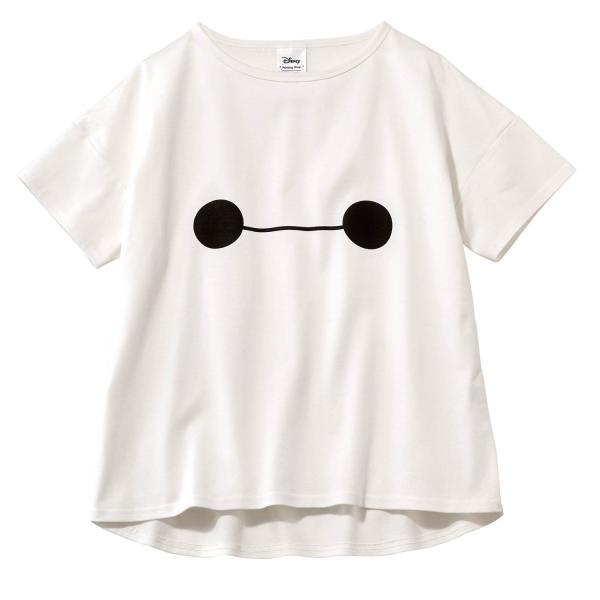 Tシャツ カットソー プルオーバー レディース ディズニー ビッグシルエットフェイスTシャツ(レディース) 「ダッキー(イエロー)」 bellemaison 07