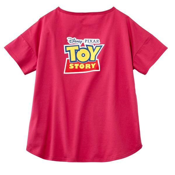 Tシャツ カットソー プルオーバー レディース ディズニー ビッグシルエットフェイスTシャツ(レディース) 「ダッキー(イエロー)」 bellemaison 09