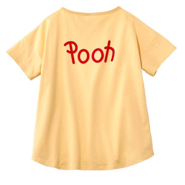 Tシャツ カットソー プルオーバー レディース ディズニー ビッグシルエットフェイスTシャツ(レディース) 「ダッキー(イエロー)」 bellemaison 10