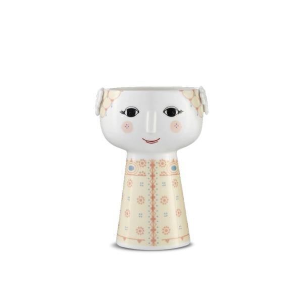 花瓶  北欧 ビヨン・ヴィンブラッド エバ・ベース ソフトイエロー 56510 日本正規代理店品 ギフト Bjorn Wiinblad|bellemessage