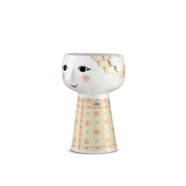 花瓶  北欧 ビヨン・ヴィンブラッド エバ・ベース ソフトイエロー 56510 日本正規代理店品 ギフト Bjorn Wiinblad|bellemessage|02