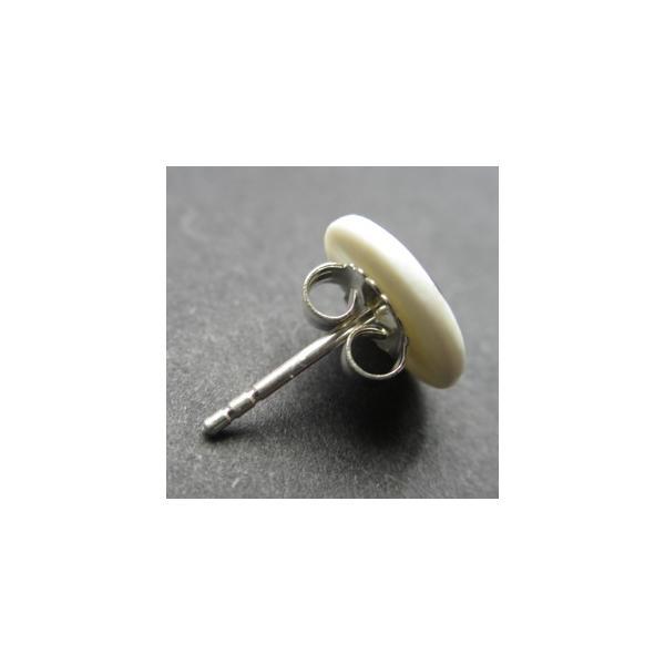 北欧雑貨 アクセサリー 磁器 ピアス シェアニング Scherning BLOOM ブルーム ピンピアス カラー:ルビー BM-1101-Rデンマーク|bellemessage|02