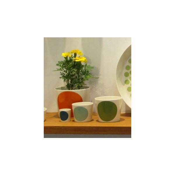 ボウル 陶器 北欧 ヘルバック HELBAK MEGA DOT container (S) H:7cm カラー:ピンク&オレンジ MD13-02 カップ ボウル 陶器 北欧雑貨|bellemessage|03