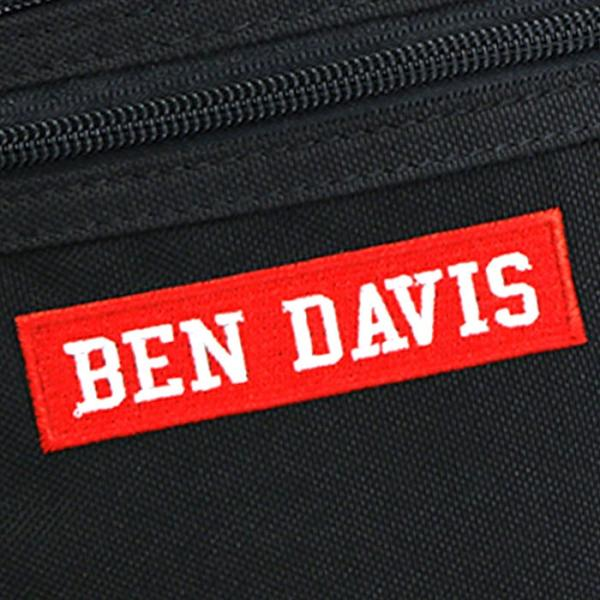 ベンデイビス BEN DAVIS ウエストバッグ 正規品 2018 秋冬 新作 ワンショルダーバッグ ウエストポーチ 刺繍