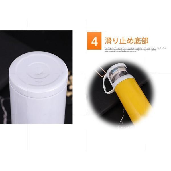 真空断熱 保温 保冷 水筒 ボトル 広口 ステンレスボトル 軽量 真空 おしゃれ シンプル コップ付き ワンボタンスイッチ|bellflowers|14