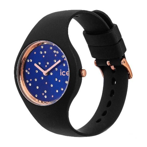 アイスウォッチ ICE WATCH 腕時計 ペアウォッチ(2本セット) ICE cosmos Star Deep blue アイスコスモ スワロフスキー 40mm & 34mm 016294 016298