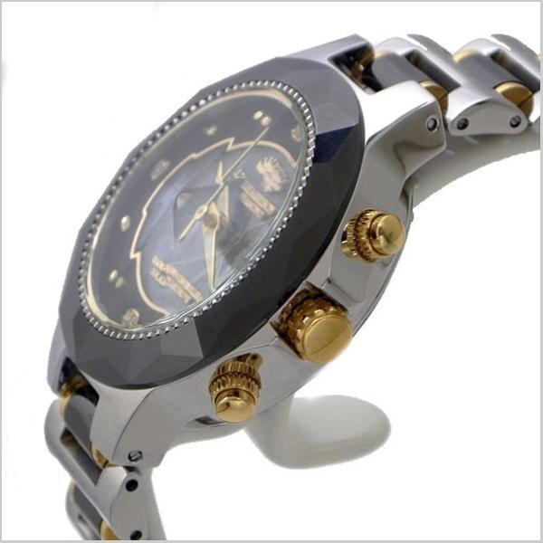 ジョンハリソンJ.HARRISON ソーラー電波 腕時計 天然ダイヤモンド4石付 レディース/女性用 JH-024LBB