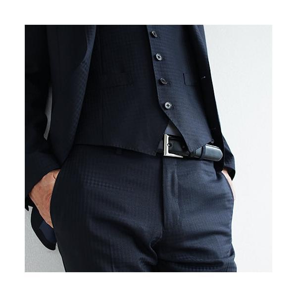 ベルト メンズ ビジネスベルト 本革 送料無料 日本製 スーツ フォーマル Nippon de Handmade|beltlab-y|04