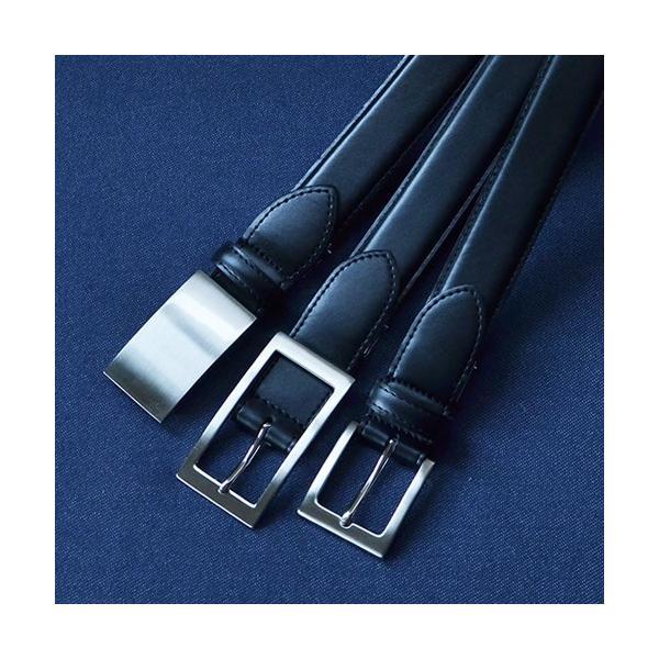 ベルト メンズ ビジネスベルト 本革 送料無料 日本製 スーツ フォーマル Nippon de Handmade|beltlab-y|06