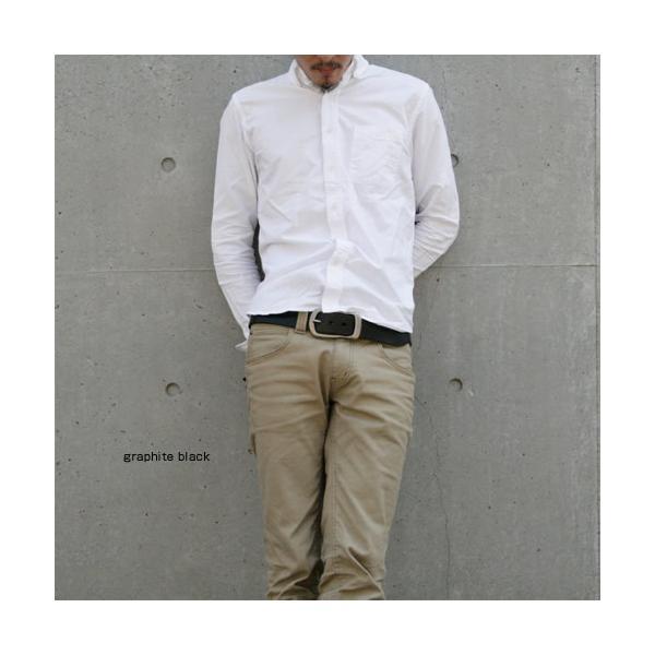ベルト メンズ レディース 日本製 本革 カジュアル 牛革 レザーベルト 馬蹄型バックル|beltlab-y|07