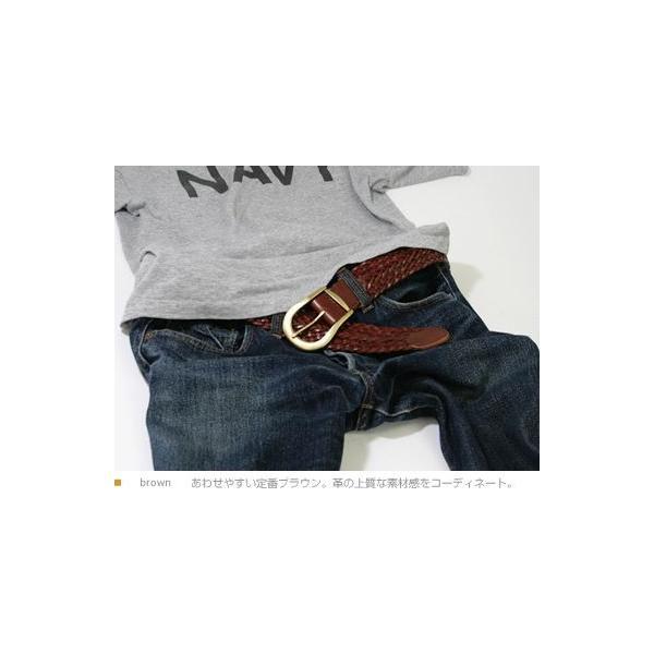 ベルト メンズ レディース 牛革 メッシュベルト tricote トリコッテ beltlab-y 03