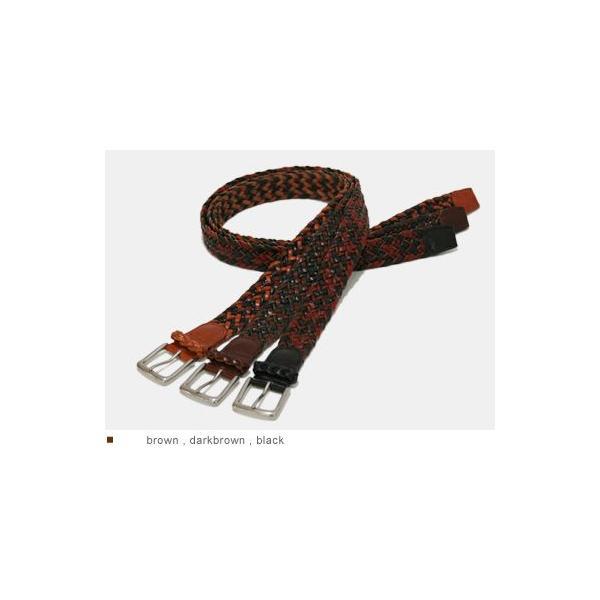ベルト メンズ レディース メッシュベルト カジュアル 本革ベルト tricote トリコッテ|beltlab-y|02