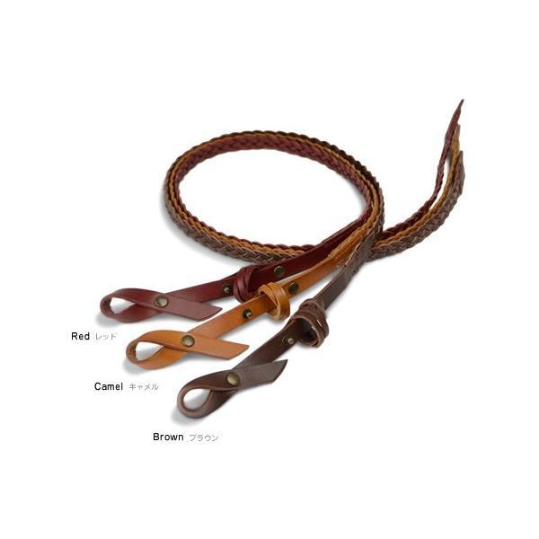 ベルト レディース メッシュベルト 本革 バックルレス リボン 牛革ベルト tricote トリコッテ|beltlab-y|02