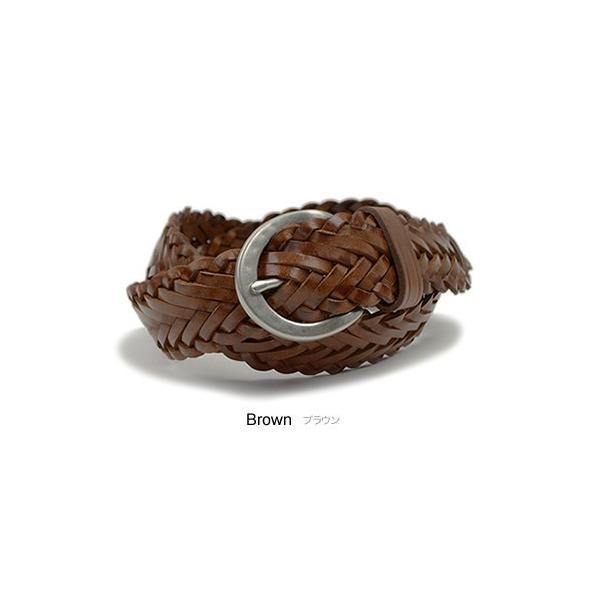 メッシュベルト ベルト メンズ レディース 本革 ベーシック 牛革 編み込み おしゃれ カジュアル tricote トリコッテ beltlab-y 10