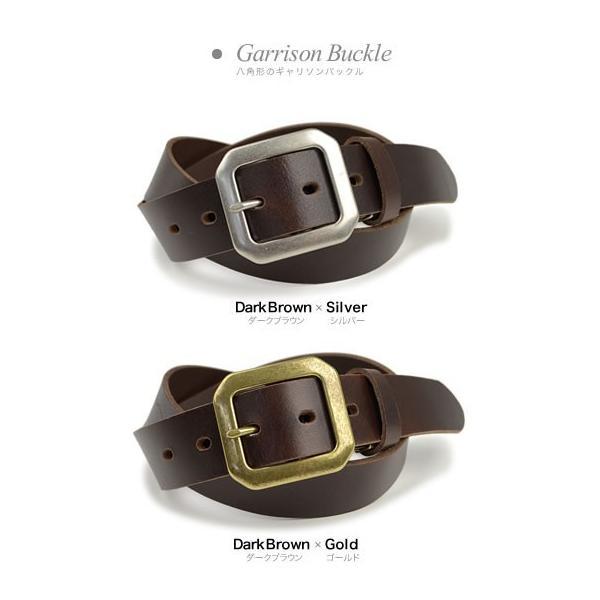 ベルト メンズ レディース 日本製 送料無料 4つのバックルと3つの革色 ベーシック 本革ベルト 牛革 レザー|beltlab-y|11