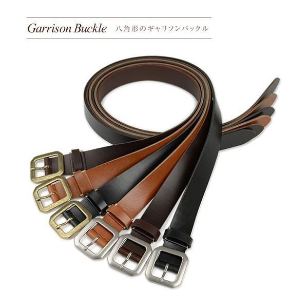 ベルト メンズ レディース 日本製 送料無料 4つのバックルと3つの革色 ベーシック 本革ベルト 牛革 レザー|beltlab-y|04