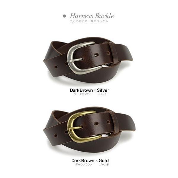 ベルト メンズ レディース 日本製 送料無料 4つのバックルと3つの革色 ベーシック 本革ベルト 牛革 レザー|beltlab-y|08
