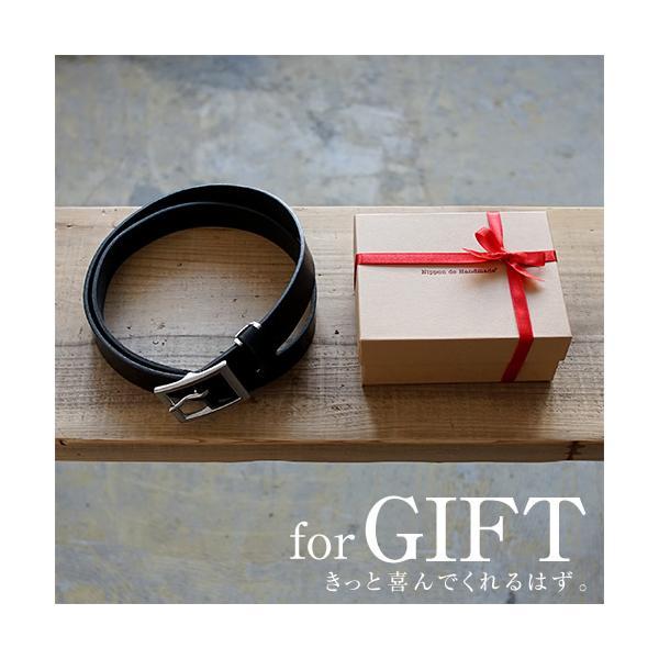 ベルト メンズ レディース 送料無料 日本製 栃木レザー/Nippon de Handmade/スマート 30mm デニム スーツ カジュアル ビジネス 本革|beltlab-y|09